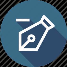 anchor, delete, pen, point, pointer, remove, tool icon
