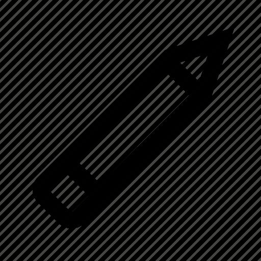 draw, edit, eraser, path, pen, pencil, tool icon