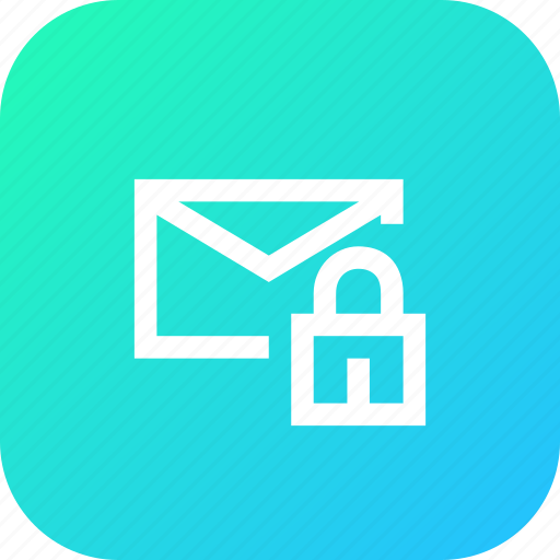 chat, chatting, interface, lock, mail, message, secure icon