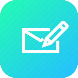 compose, inbox, interface, mail, message, type, write icon