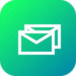 combo, email, envelope, main, message, multiple, text icon
