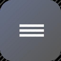 alignment, centre, design, interface, line, margin icon