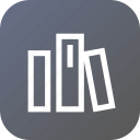 interface, library, menu, option, swatch, tools icon