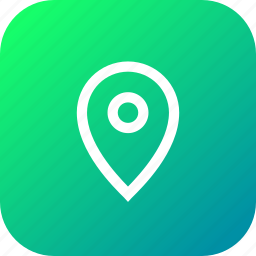 find, locate, location, navigate, navigation, pin, place icon