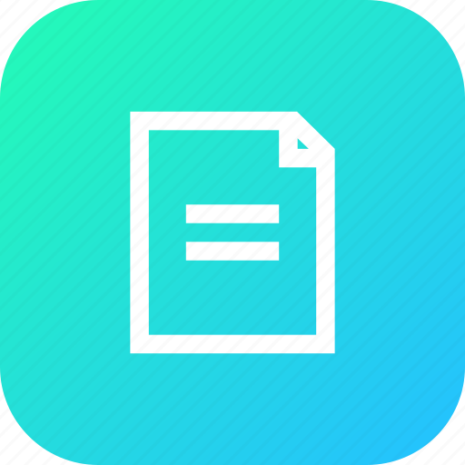 document, important, memo, note, notebook, write icon