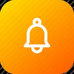 alarm, alert, bell, notice, notification, reminder, round icon