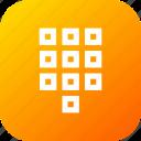 arrange, keypad, numbers, numpad, square, tile