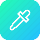 color, dropper, graphic, interface, picker, tool icon