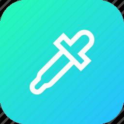 color, dropper, graphic, interface, picker, tool icon
