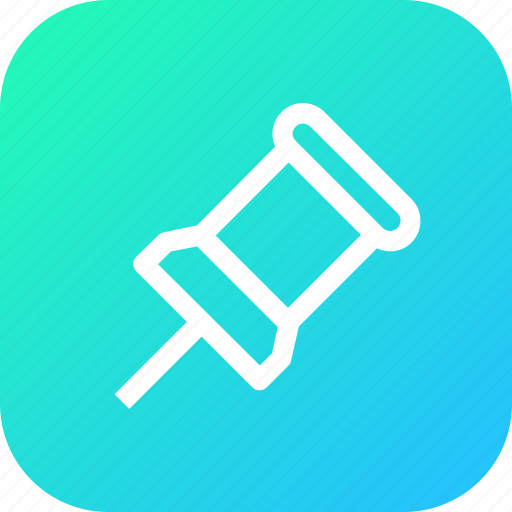 add, attach, interface, locate, location, navigate, pin icon