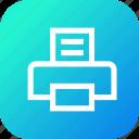 copy, interface, paper, print, printer
