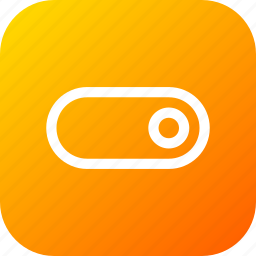 interface, off, on, slide, slider, switch, toggle icon