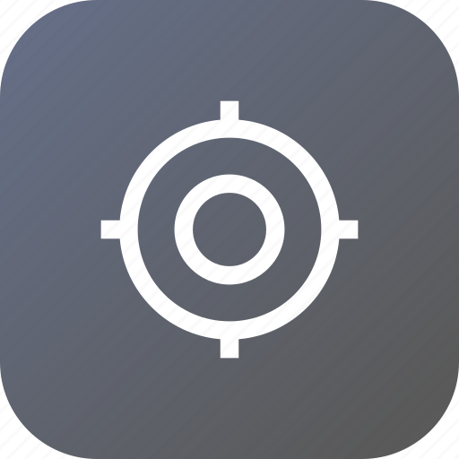 aim, circle, fix, interface, mission, shoot, target icon