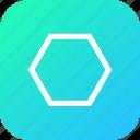 design, polygon, polygontool, shape, tool icon