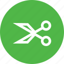 anchor, interface, ponits, scissors, tool icon