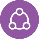 connect, connecting, interface, share, sharing, ui icon
