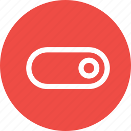 control, interface, off, on, slide, slider, toggle icon
