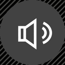 decrease, headphone, increase, speaker, voice, volume icon
