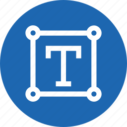 editing, text, tool, transform, transforming, write icon