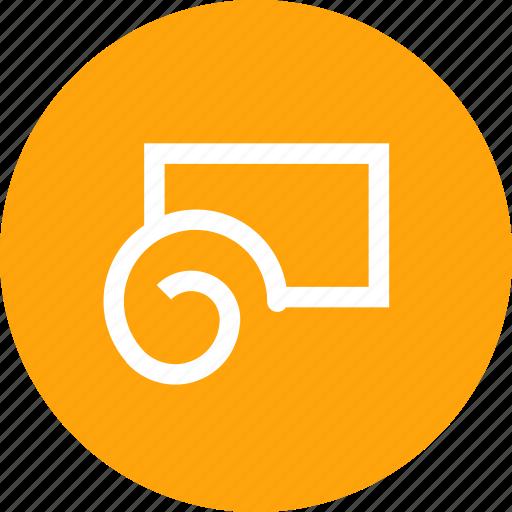 convert, interface, shape, tool, twirl, twirltool icon