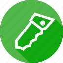erase, interface, knife, remove, saw, select, tool icon