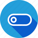 interface, off, on, slide, slider, toggle icon