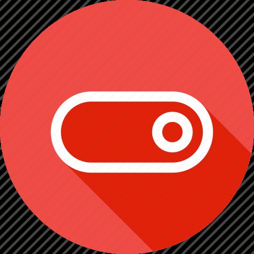 interface, off, on, slide, slider, toggle icon