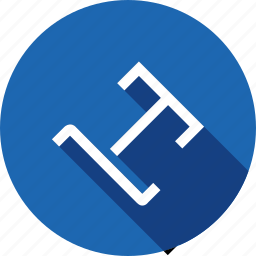 bend, document, path, right, text, tool, type icon