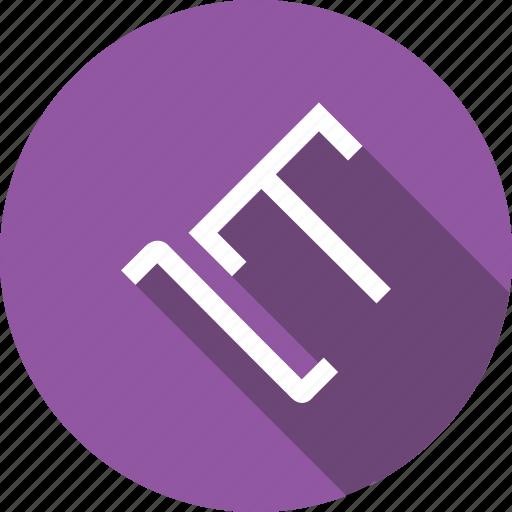 document, left, part, text, tool, type, ui icon