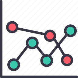 analysis, business, chart, graph, performance, statics icon