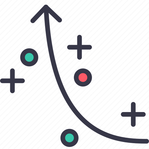 analysis, business, graph, plan, plot, progress, statics icon