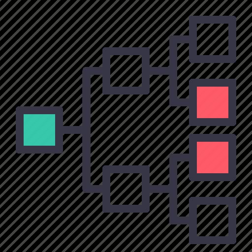business, chart, diagram, flowchart, graph, hierarchy, organization icon