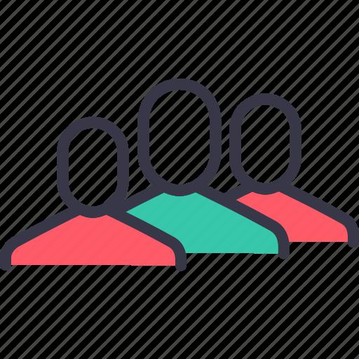 avatar, company, employee, group, men, organization, team icon
