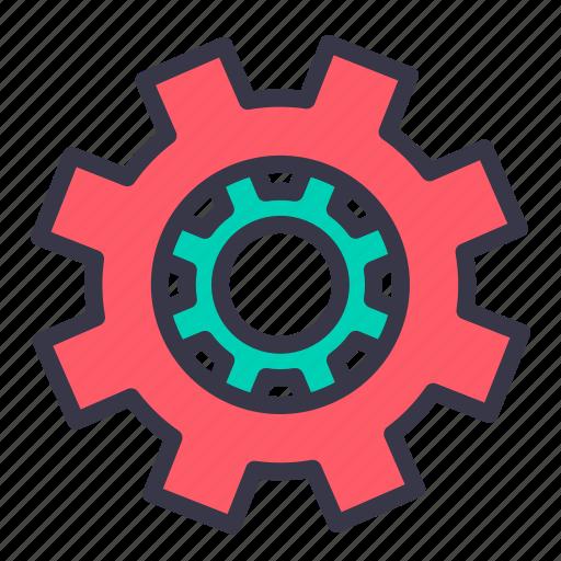cogwheel, configure, gear, optimization, preferences, setting, wheel icon