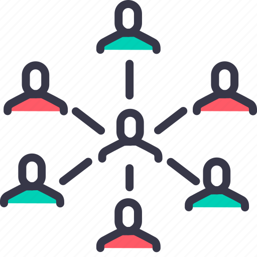 boss, center, ceo, command, employee, manager, worker icon
