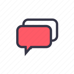 bubble, chat, chatting, conversation, message, talk, talking icon