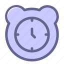 alarm, clock, interface, web icon icon