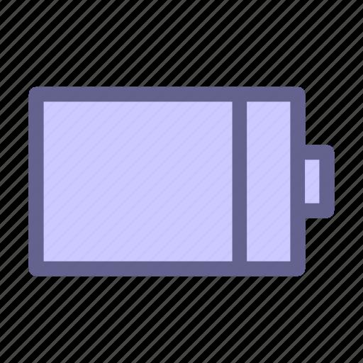 battery, interface, web icon icon