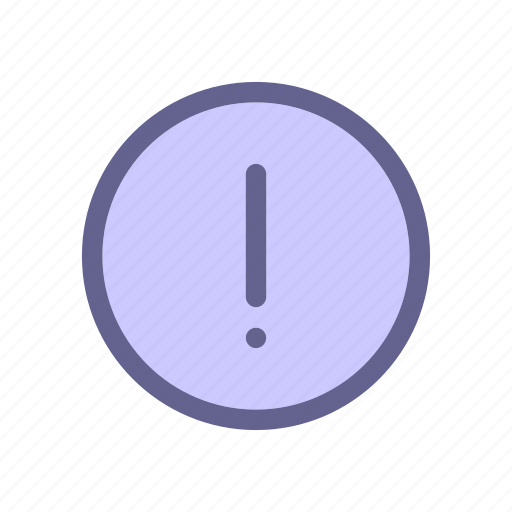 exclamation, interface, report, web icon icon