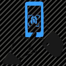 fingerprint, id, biometric, user, authentication, fingers, unlock, recognition, sensor, phone