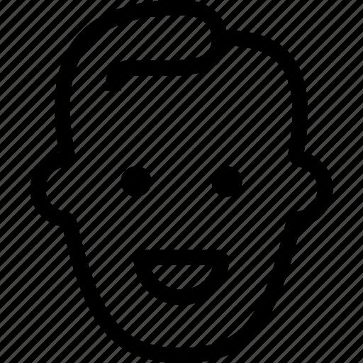 happy, joy, joy emoji, laugh, laughing, smiley, user icon