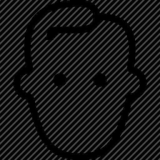 face, no face, poker face, user icon
