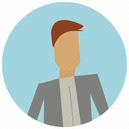 account, avatar, business, formal, user icon