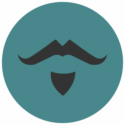 avatar, man, mustache, profile, user icon