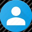 circle, smal, user icon
