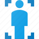 body, scan icon