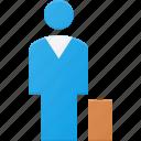business, person icon
