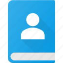 address, book, contact, notebook, office, phone icon