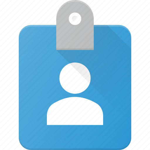 Book, id, identity, person, tag icon - Download on Iconfinder
