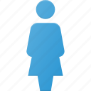account, avatar, female, interface, peson, profile, user icon